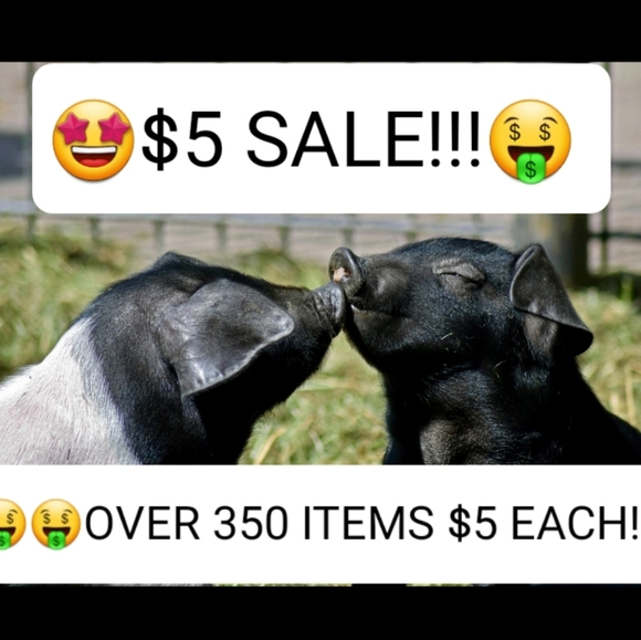 $5 SALE! OVER 350 ITEMS FOR $5 EACH! NEW BRANDS!